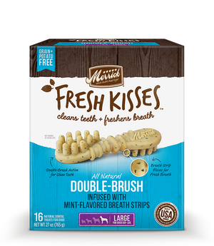 Merrick - Fresh Kisses with Mint-Flavored Breath Strips