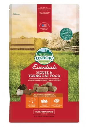 Oxbow - Essentials Mouse & Young Rat Food 2.5-lb