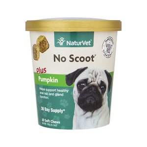 NaturVet No Scoot® Soft Chew 60-count