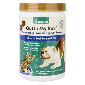 NaturVet Outta My Box Soft Chews 500-count