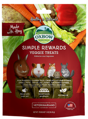 Oxbow - Simple Rewards Veggie Treats