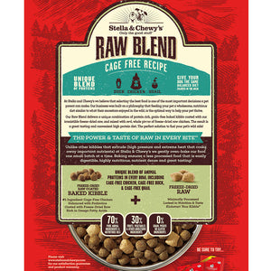 Stella & Chewy's Raw Blend Cage-Free Kibble