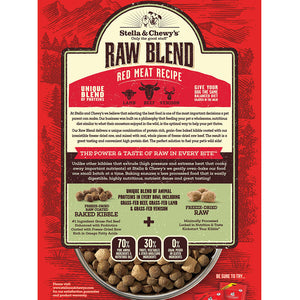 Stella & Chewy's Raw Blend Red Meat Kibble