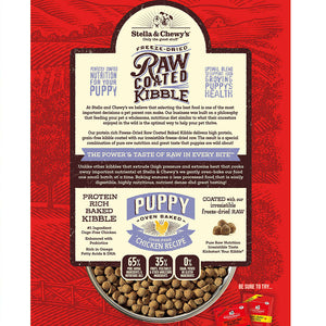 Stella & Chewy's Raw Coated Cage-Free Chicken Kibble For Puppies