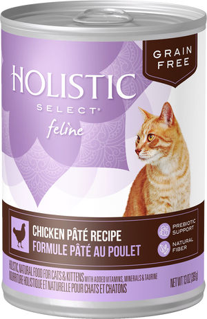 Holistic Select - Feline Grain Free Chicken Pate Canned
