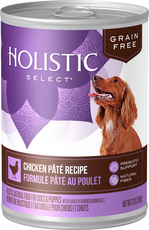 Holistic Select - Grain Free Chicken Pate Canned