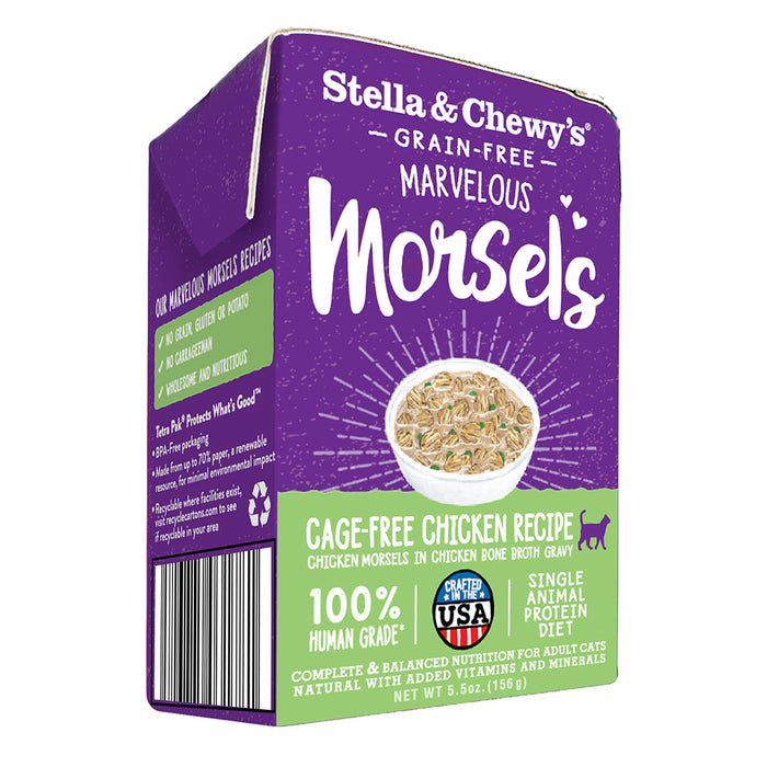 Stella & Chewy's Chicken Morsels Wet Cat Food 5.5oz