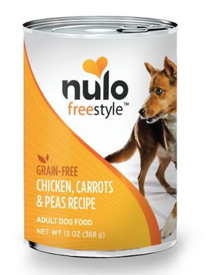 Nulo - Chicken, Carrots & Peas Canned 13oz.