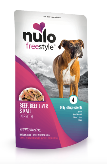 Nulo - Beef, Liver & Kale Food Topper 2.8oz