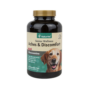 NaturVet Senior Aches & Discomforts Chewable Tablets