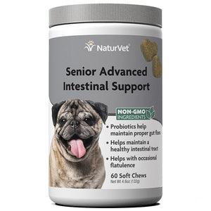 NaturVet - Senior Advanced Intestinal Support