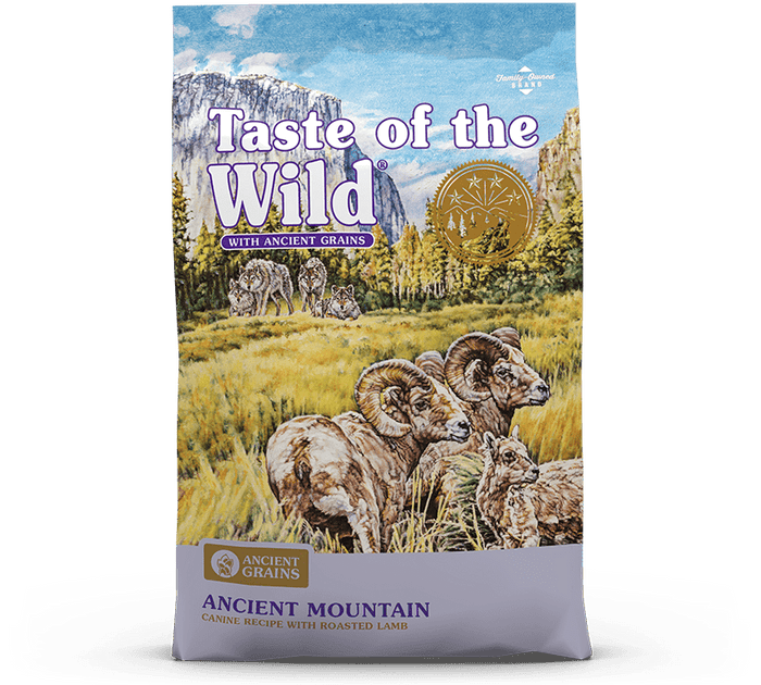 Taste of the Wild - Ancient Mountain Canine Recipe with Roasted Lamb