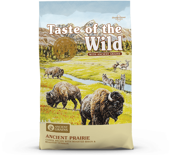 Taste of the Wild - Ancient Prairie Canine Recipe with Roasted Bison & Roasted Venison