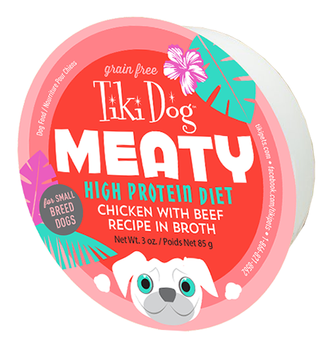 Tiki Dog - Meaty Chicken with Beef Recipe