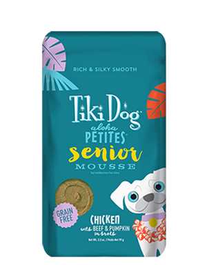 Tiki Dog - Aloha Petites Senior Mousse