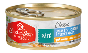 Chicken Soup for the Soul - Classic Weight & Mature Cat Canned 5.5-oz