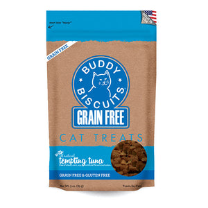 Buddy Biscuits - Feline Grain-Free Chewy Tuna Treats