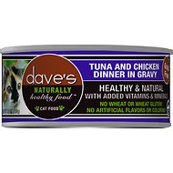 Dave's - Naturally Tuna and Chicken Dinner in Gravy