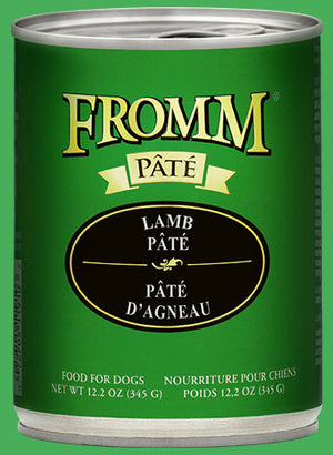 Fromm Lamb Pate Canned Dog
