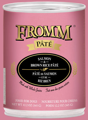 Fromm - Salmon & Brown Rice Canned 12.2-oz