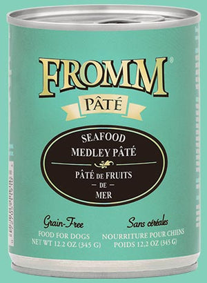 Fromm Seafood Medlet Pate Canned Dog