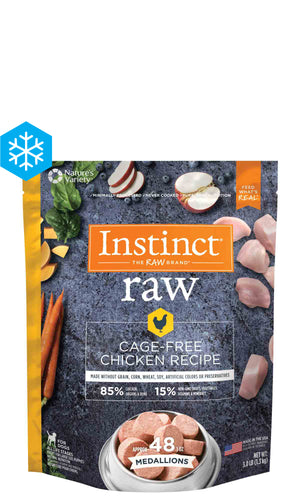 Nature's Variety - Frozen Raw Chicken Medallions 3lbs