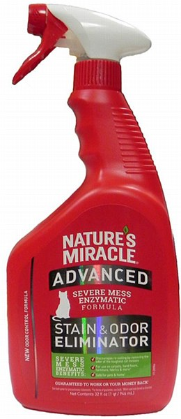 Nature's Miracle - Advanced Stain & Odor Eliminator for Cats