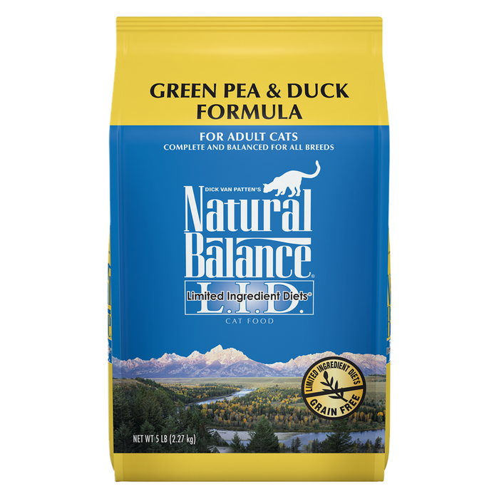 Natural Balance - Duck & Green Pea LID Cat Food