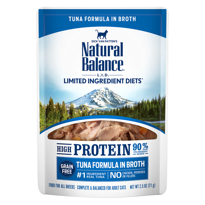 Natural Balance - Limited Ingredient High Protein Tuna Cat Pouch