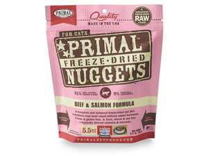 Primal - Feline Raw Freeze-Dried Beef & Salmon