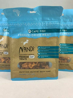 Nandi - Cape Fish Freeze-Dried Meat Cat Treats 2-oz.