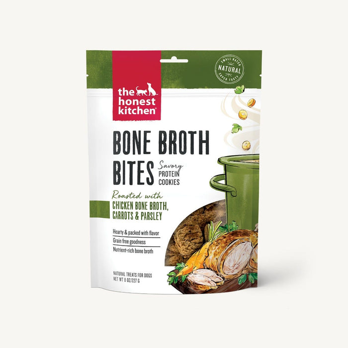 The Honest Kitchen - Bone Broth Bites - Chicken, Carrot & Parsley