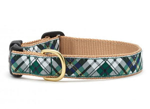 Up Country Gordon Plaid Dog Collar