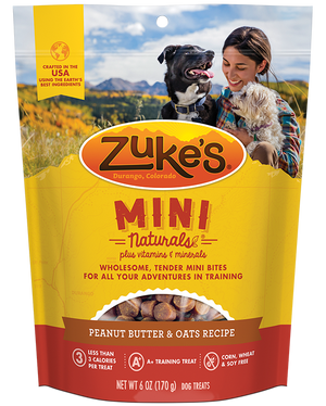 Zukes - Mini Natural Peanut Butter
