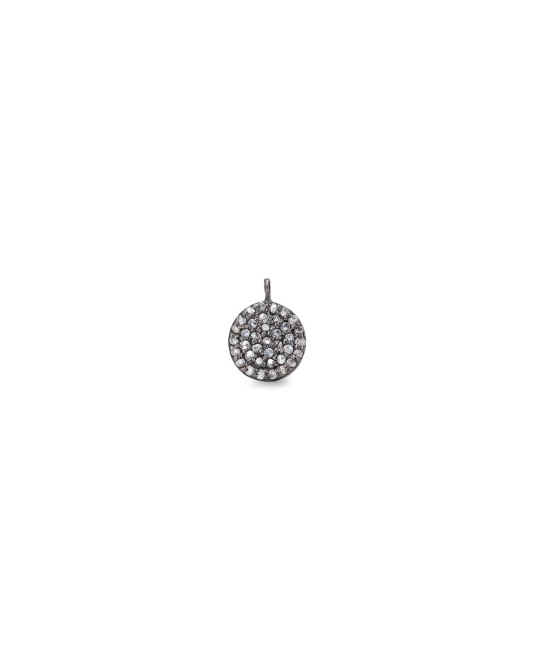Black Rhodium Diamond Medium Disk
