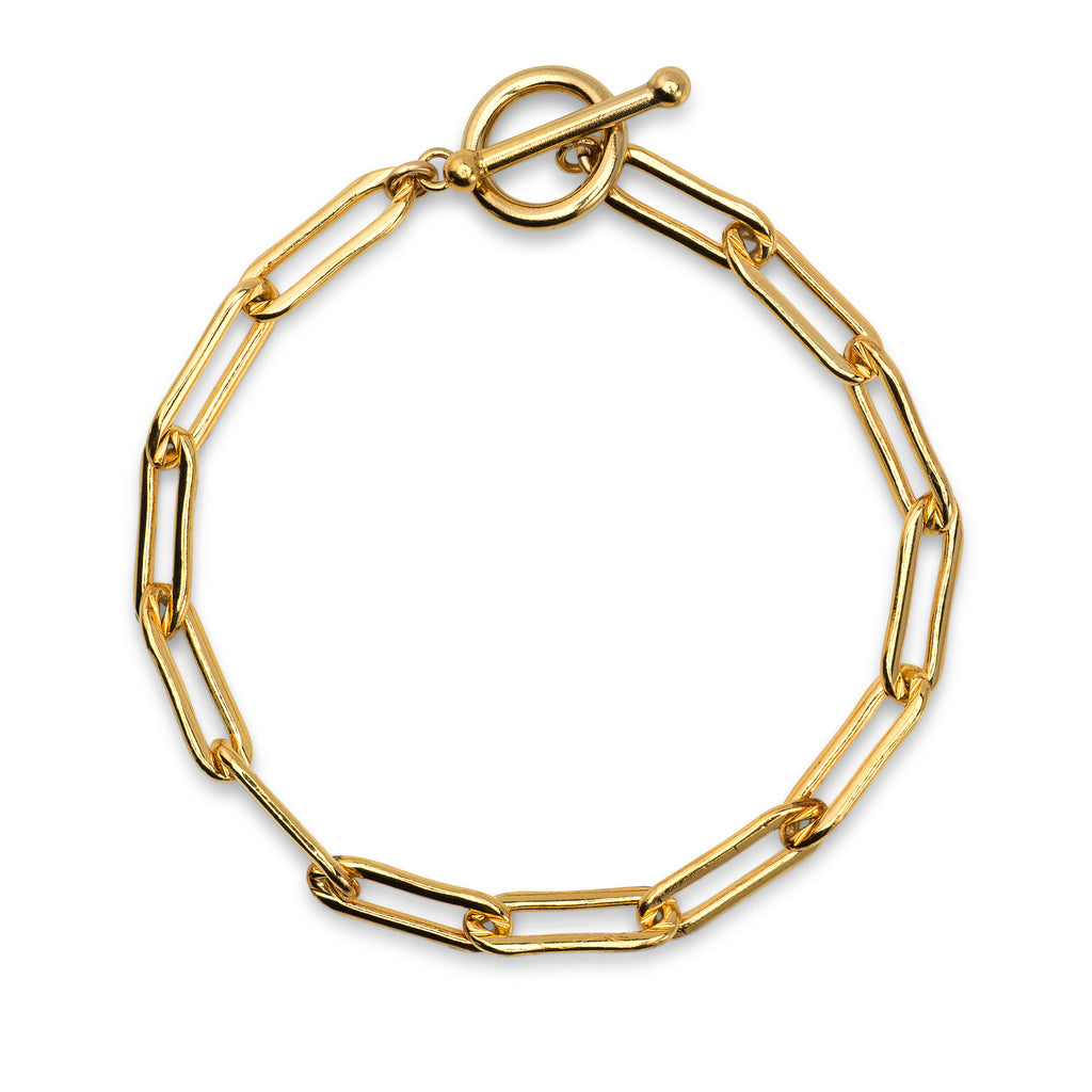 Yellow Gold Filled Chain Bracelet