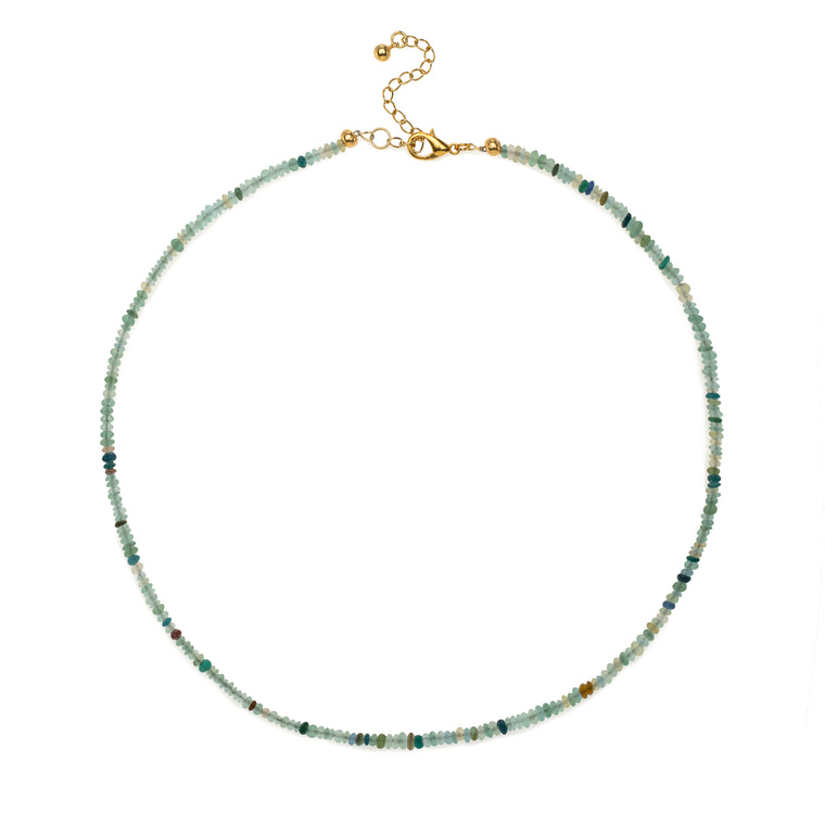 Itsy Beaded Vintage Roman Glass Necklace