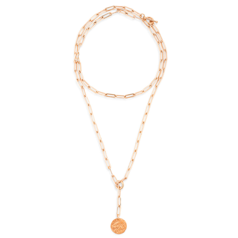 Rose Gold Filled Lion Chain Pendant 10 Ways Marija Necklace