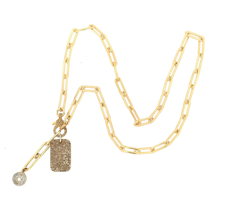 gold-diamond-dog-tag-sunburst-chain-necklace