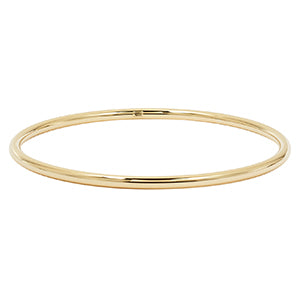 Yellow Gold High Polished Bangle