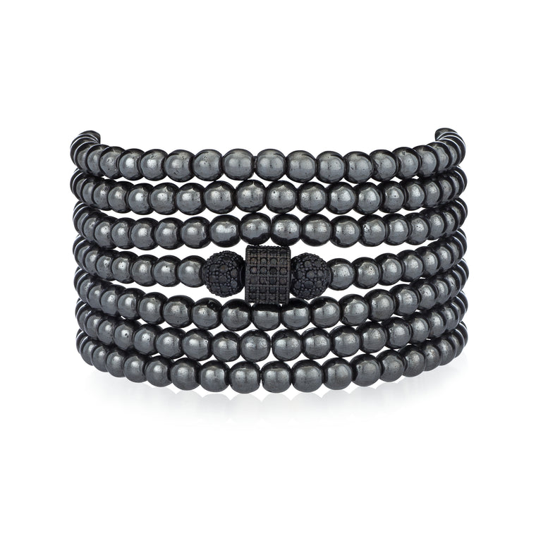 gunmetal-hematite-bracelet-necklace