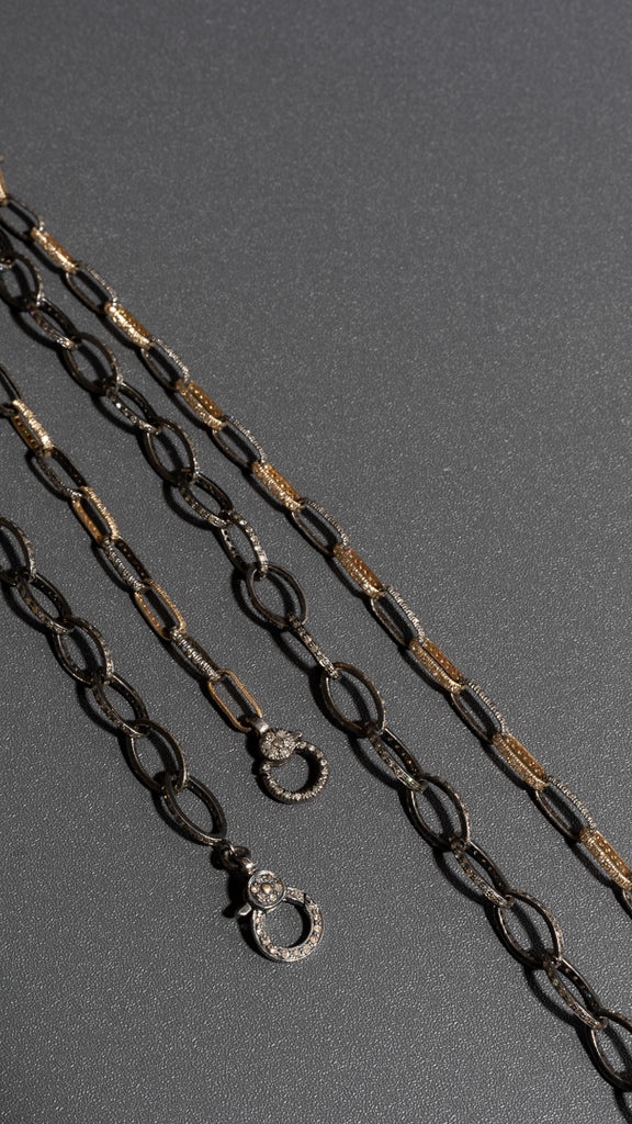 diamond-link-necklace