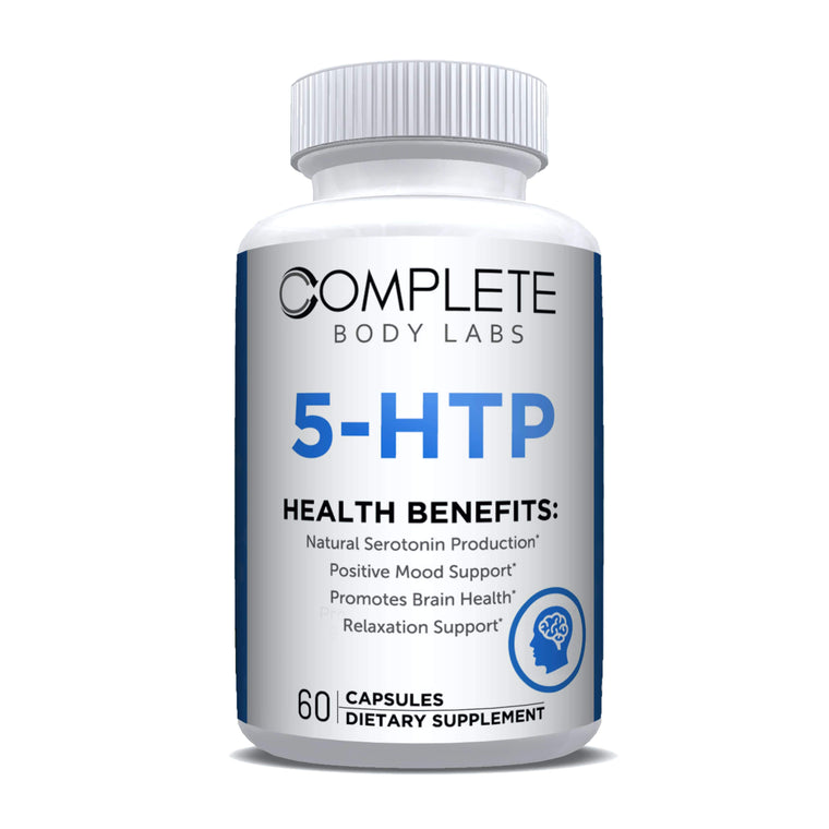 5-HTP Complete Body Labs | Probiotics, Nootropics, Brain Supplements, Protein Bars, Workout Supplements, Health Supplements, Omega-3 & Essential Vitamins For Men & Women