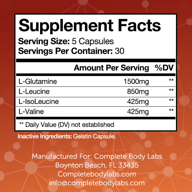 REPAIR (Enhanced Muscle Recovery) | Complete Body Labs | Probiotics, Nootropics, Brain Supplements, Protein Bars, Workout Supplements, Health Supplements, Omega-3 & Essential Vitamins For Men & Women
