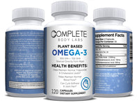 PLANT BASED OMEGA-3 (Encapsulated Algae Powder) Complete Body Labs