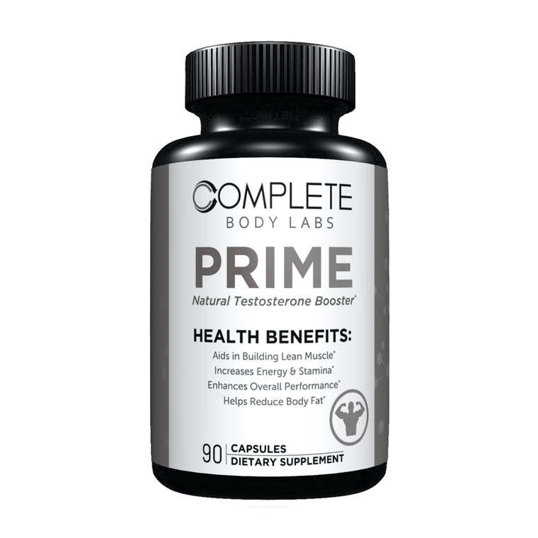 PRIME Complete Body Labs | Probiotics, Nootropics, Brain Supplements, Protein Bars, Workout Supplements, Health Supplements, Omega-3 & Essential Vitamins For Men & Women