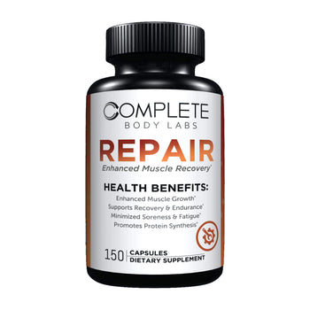 REPAIR (Enhanced Muscle Recovery) Complete Body Labs | Probiotics, Nootropics, Brain Supplements, Protein Bars, Workout Supplements, Health Supplements, Omega-3 & Essential Vitamins For Men & Women