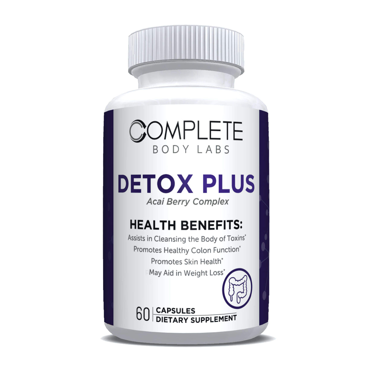 DETOX PLUS Complete Body Labs | Probiotics, Nootropics, Brain Supplements, Protein Bars, Workout Supplements, Health Supplements, Omega-3 & Essential Vitamins For Men & Women