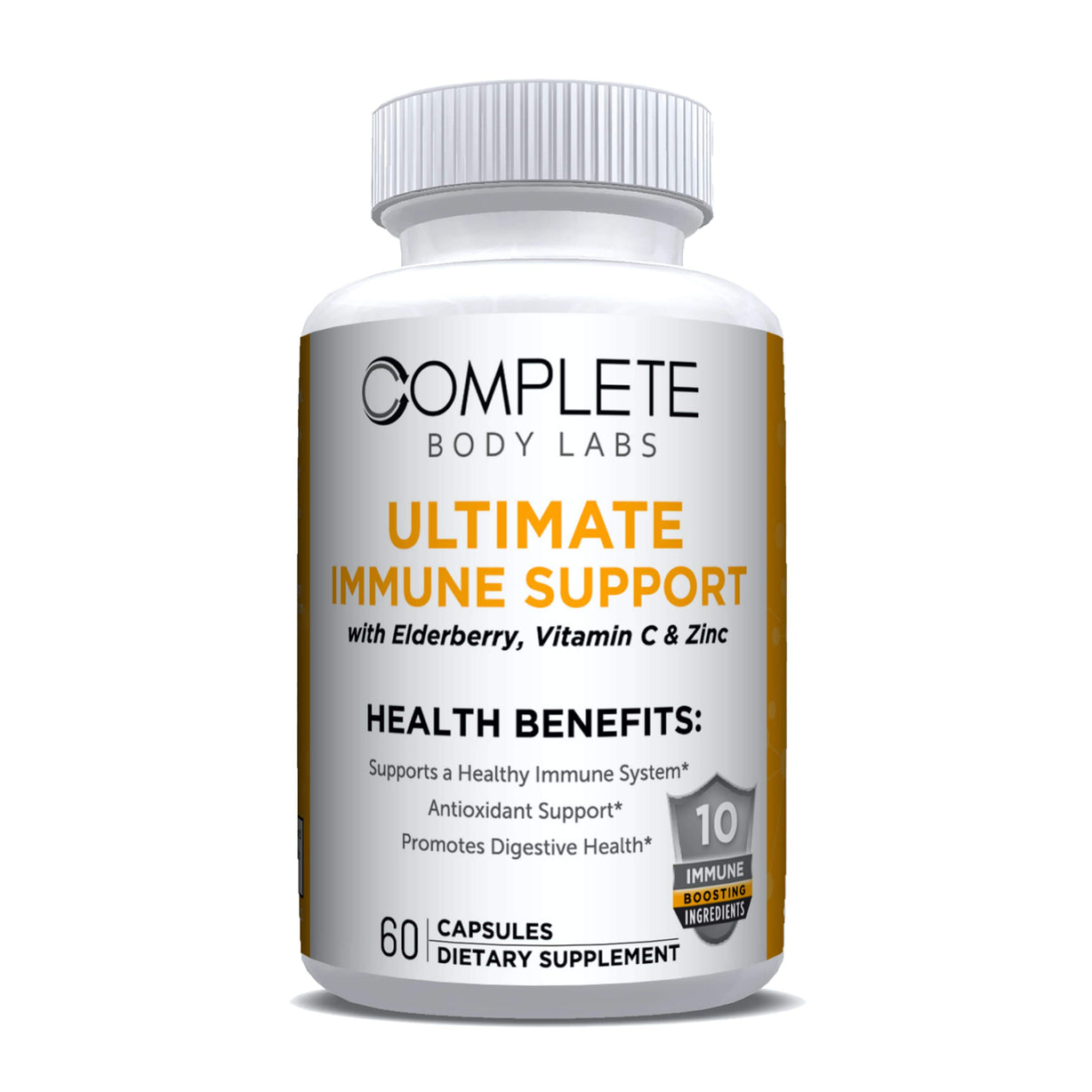 ULTIMATE IMMUNE SUPPORT Complete Body Labs | Probiotics, Nootropics, Brain Supplements, Protein Bars, Workout Supplements, Health Supplements, Omega-3 & Essential Vitamins For Men & Women