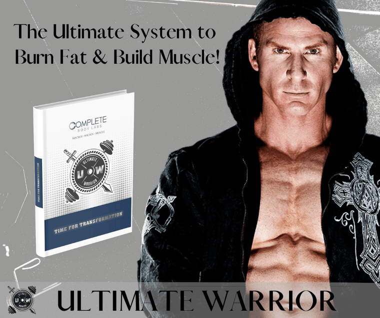 Ultimate Warrior Program (Build Muscle & Lose Fat) Complete Body Labs | Probiotics, Nootropics, Brain Supplements, Protein Bars, Workout Supplements, Health Supplements, Omega-3 & Essential Vitamins For Men & Women